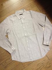 美品HARE 霜降りシャツ 日本製 ハレ