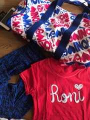 送料込(^-^)ロニィ)ボストンとTシャツ2点