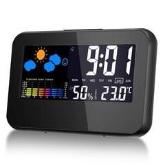 温湿度計 気象計 目覚まし時計