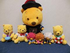 ディズニー くまのプーさん ぬいぐるみセット Pooh (6)