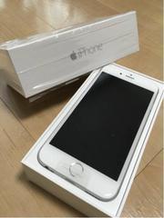 新品 SoftBank iPhone6 16GB シルバー ソフトバンクアイフォン6 判定○
