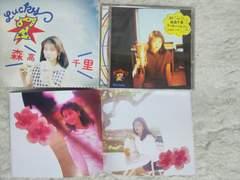 初回限定CD 森高千里 ラッキー セブン '93/5 全14曲 CDデータB2ポスター