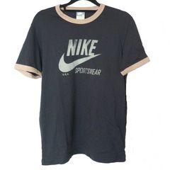 新品L★ナイキNIKE黒ロゴTシャツ送料164円