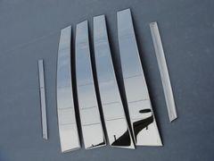 レクサス 鏡面ステンレスピラーLS460 LS600h3D成