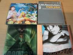 T.M.Revolution CD4枚セット★(西川貴教 浅倉大介)T.M.R.