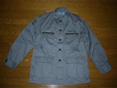バウンティーハンターBOUNTY HUNTERスタッズシャツ3灰系B×H