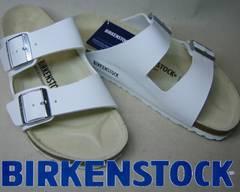 ビルケンシュトック新品アリゾナARIZONA051731ホワイト40