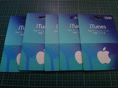 iTunes カード 9000円分です。