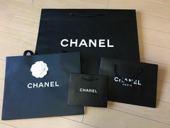 CHANELシャネル 紙袋4枚ショッパー