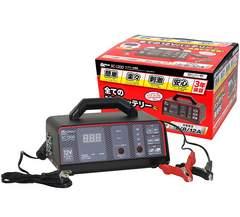 メルテック バッテリー充電器(バイク~大型トラック) DC12V用