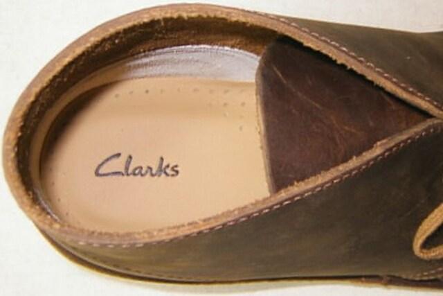 クラークスCLARKS新品デザートブーツ26106562ブラウンus9  < 男性ファッションの