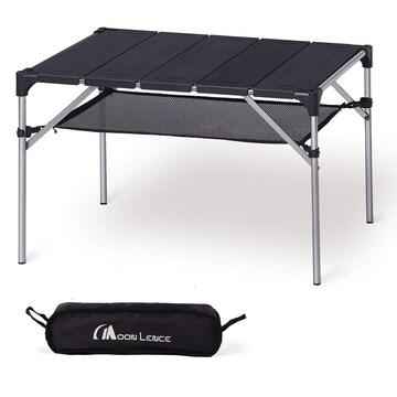 キャンプ テーブル アルミ ロールテーブル アウトドア