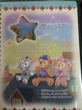 2016.4.7発売★15th Wishing Together★ダッフィーのノート