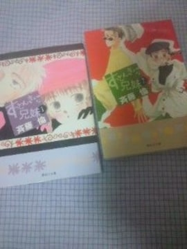 送料込・斎藤倫/すっとんきょーな兄妹 文庫版全2巻