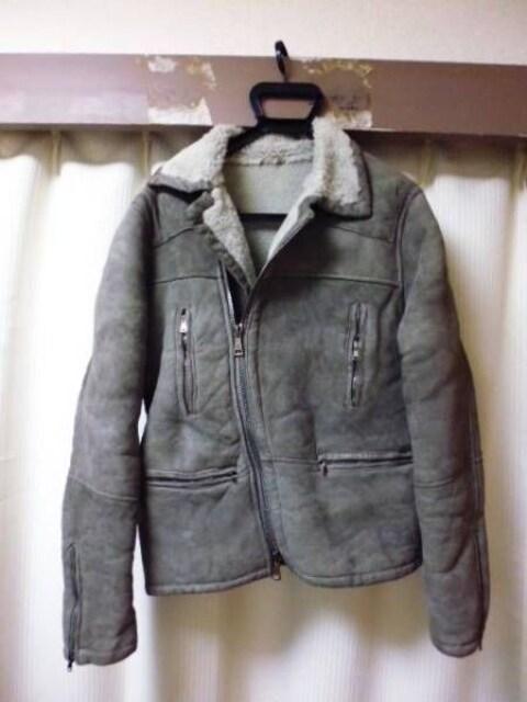 ジョルジオブラット BRATO 豪華 ムートンライダース48  < 男性ファッションの