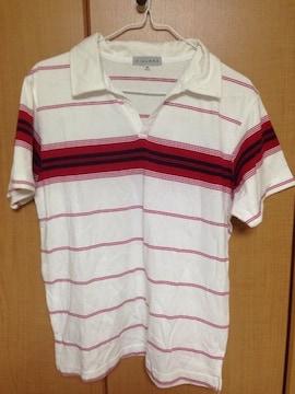 USED★Mサイズ半袖ポロシャツ¥150スタ