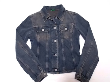 ●○ MADE IN ITALY OF BENETTON/デニムジャケット ○●
