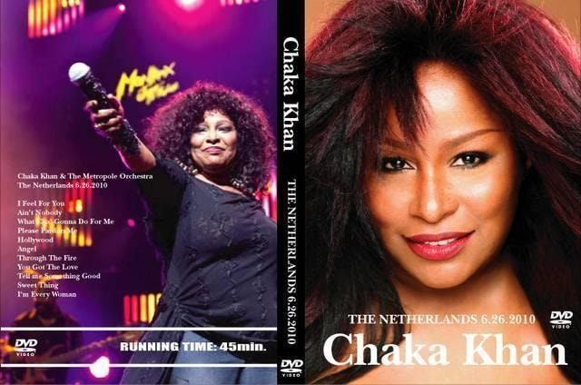 CHAKA KHAN THE NETHERLANDS 2010 チャカカーン  < CD/DVD/ビデオの