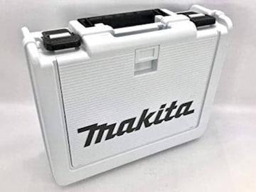 色ホワイト マキタ小型工具収納ケース【小物入れ付】 白 インパ