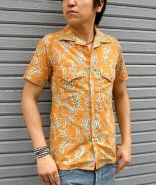ブリューテンブラット ペイズリーシャツ S