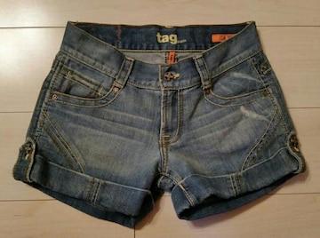 ●tag jeans●デニム ショーパン/size26