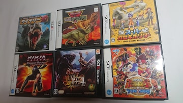 3DS DS 恐竜 子供用 ゲームソフト まとめ売り