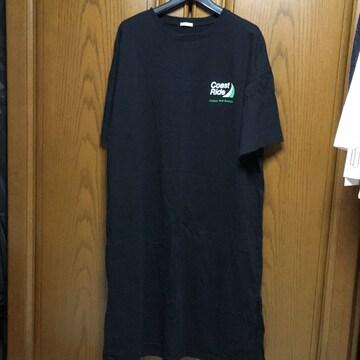 大きいサイズ。とっても素敵なTシャツワンピース。黒。大きめ