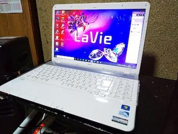 NEC Lavie LS150/F Win10 SSD256GB メモリ8GB