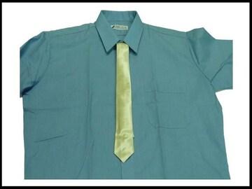 新品 無地柄クリーム色ネクタイ