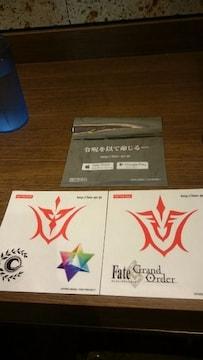 ■非売品■Fate/staynight 総限定3200名令呪ステッカーセット