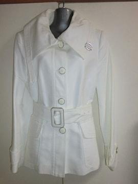 格好いいコートZARA WOMANザラ肉厚デザインジャケット