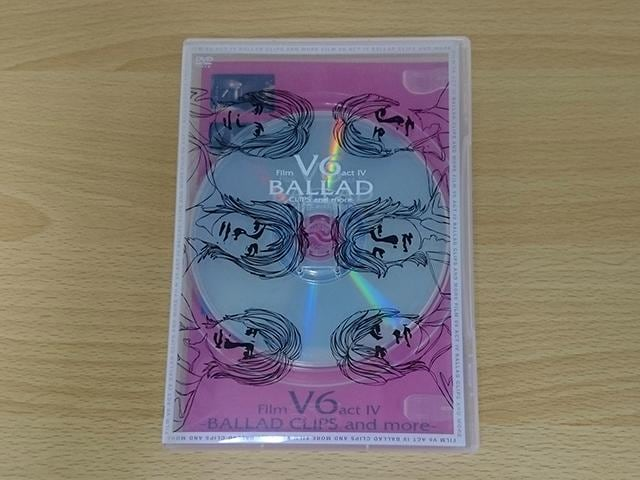 V6 DVD「Film V6 act IV BALLAD CLIPS and more-」PV集●  < タレントグッズの