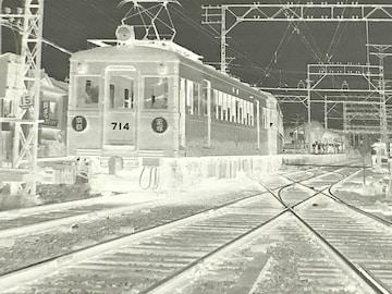 「京都−宝塚」714号当時モノネガです。