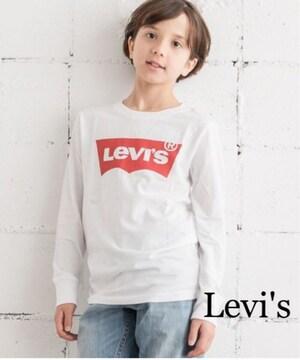 定価3,132円【新品】Levi's kids ロゴ入りロングスリーブTシャツ