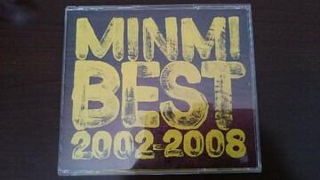 MINMI「BEST 2002-2008」ベスト/2枚組