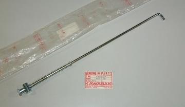カワサキ MC1 90MS KM90? ブレーキロッド・アッシー 絶版新品