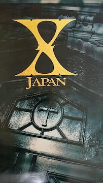 X JAPAN ポスター ロゴ YOSHIKI hide ToshI HEATH