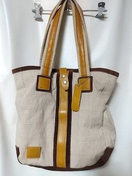マスターピースMASTER-PIECEレザー切り替えトートバッグ鞄カバン日本製革皮中古