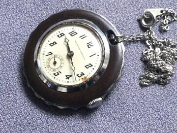 ☆TAVANNES(CYMA)☆1940年代ヴィンテージ懐中時計仕様☆稼働良好