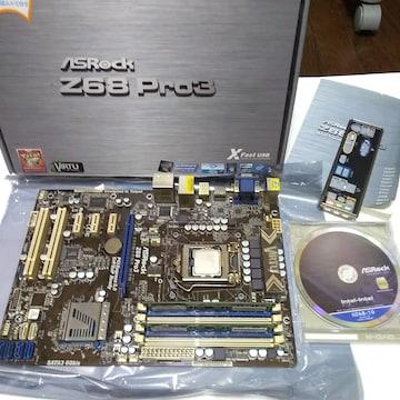 ASRock z68 PRO3 i5 2500k メモリ 8G(4×2)セット