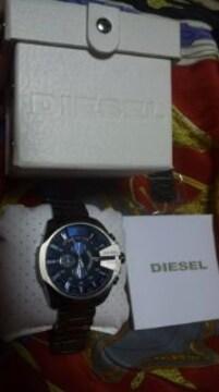 DIESELDZ-4329クロノグラフ腕時計超大型ディーゼル定価35640円