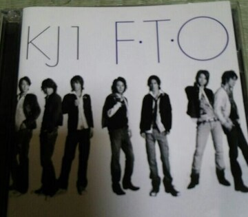 初回盤DVD付きCD 関ジャニ∞ KJ1 F.T.O 帯無し