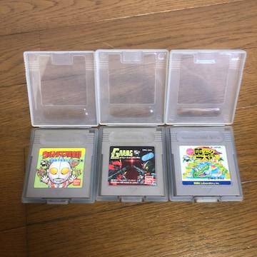 即決 GAMEBOY ゲームボーイ ソフト 3個セット