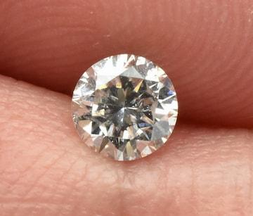 【中央宝石研究所】天然ダイヤモンド 0.433ct ルース 裸石