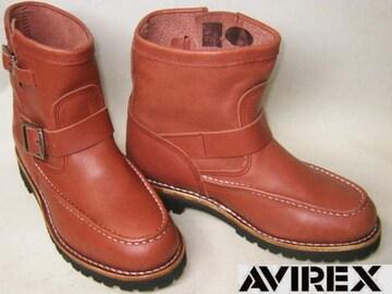 AVIREXアビレックス新品ショート エンジニア ブーツ2535RB 7