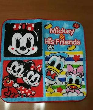 ディズニーミッキー☆Mickey&His Friends☆ハンドタオル