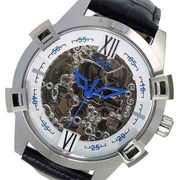 コグ フルスケルトン 自動巻き 腕時計 SKN2-WH