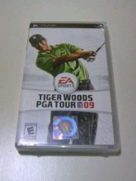 レア 新品 PSP タイガーウッズ PGATOUR09海外版/スポーツ GOLF ゴルフツアーゲーム