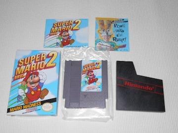FC★SUPER MARIO BROS. 2 NES 海外版(国内本体動作不可)