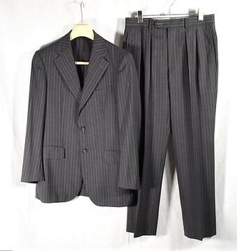 sizeA5☆美品☆バーバリー ロンドン  段返り3釦スーツ